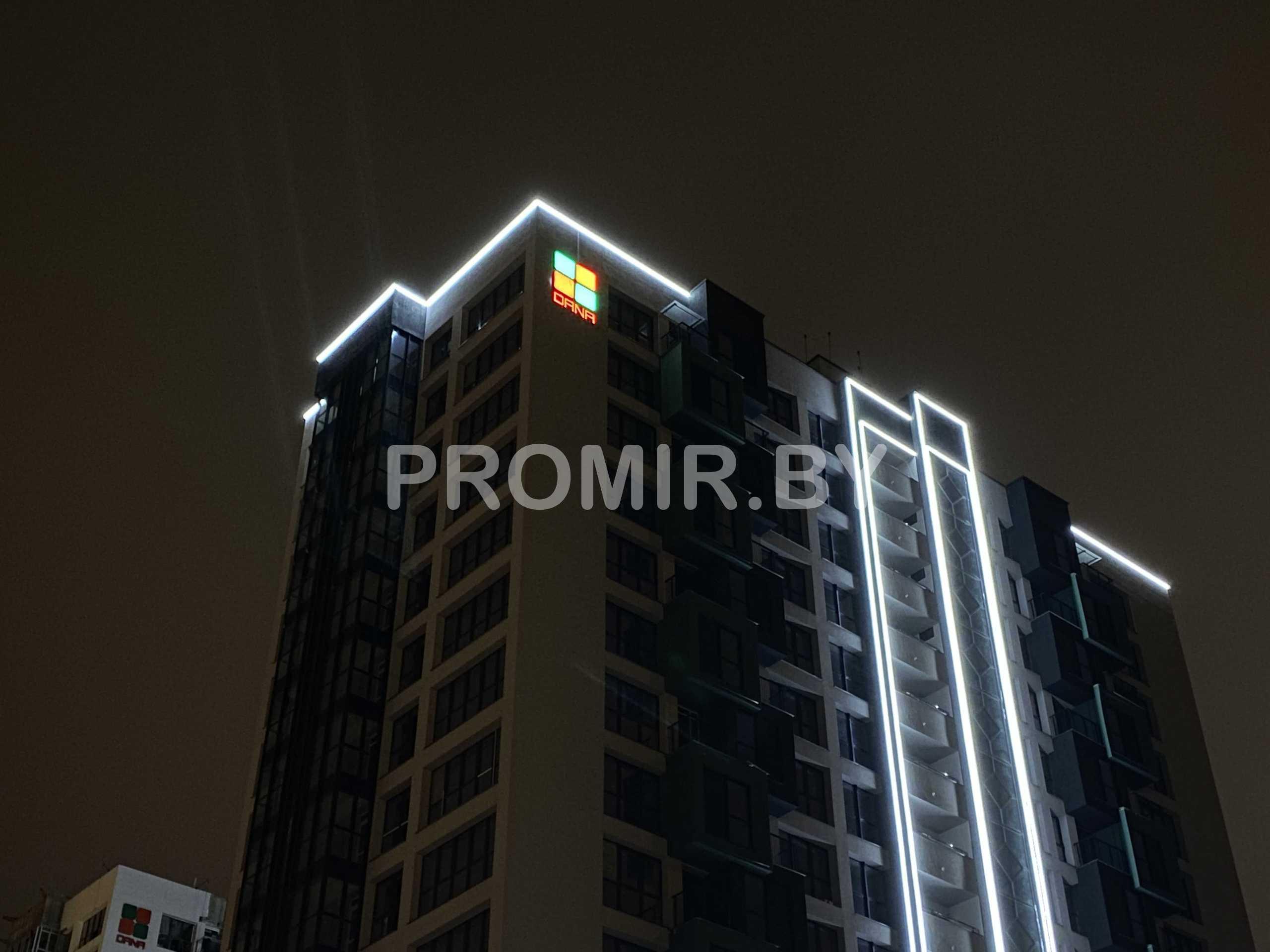 Подсветка дом Джакарта